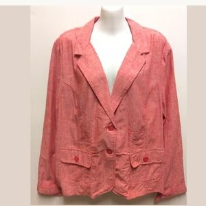 Studio Works Blazer/Jacket XL Red